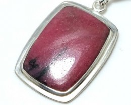 RHODONITE REDDISH PINK 45 CTS   SG-2121