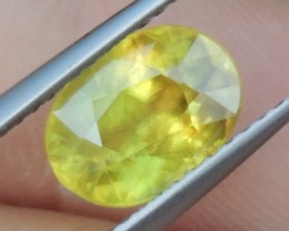 2.45cts, Sphene, Vivid Color,   Decent Size,  Great Price
