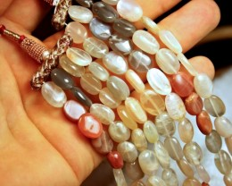 667.0 Tcw. Indian Moonstone Necklace