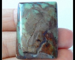 49Ct Natural Green Opal Gemstone Cabochon