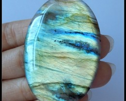 All Flash Large Labradorite,86Ct Natural High Quality Labradorite Gemstone