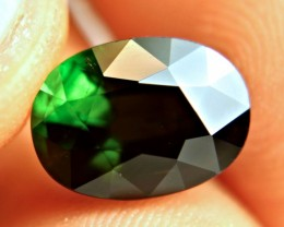 5.26 Ct. Elegant Green Nigerian Tourmaline - Superb
