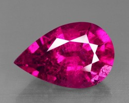 7.91 Cts Beautiful Lustrous Natural  Reddish Rubelite