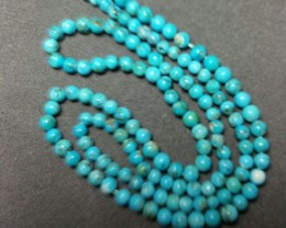 SALE 16 inch line of turquise beads