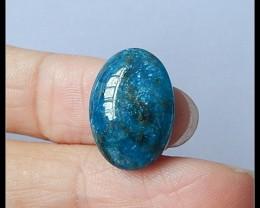 8ct Natural Blue Apatite Gemstone Cabochon