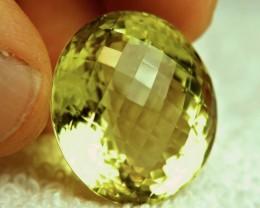 52.44 Ct. Brazilian VVS1 Lemon Quartz - Beautiful