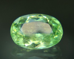 2.20 cts Apple Green COlor Natural HERDERITE Rare Gemstone