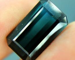9.05 cts Indicolite Blue Color Natural TOURMALINE Gemstone Afghan