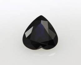 1.45cts Natural Australian Blue Sapphire Heart Shape