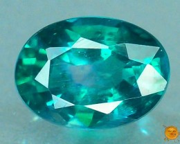 1.025 ct Natural Green Topaz