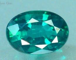 1.065 ct Natural Green Topaz
