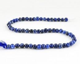 Genuine 90.00 Cts Blue Lapis Lazuli Beads 14 Inch Strand