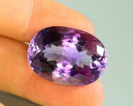 42.70CT Natural Purple Amethyst~Afghanistan