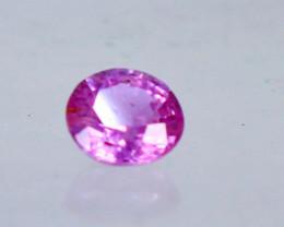 0.35 cts ~ Superb Ultra Rare 100% Natural unheated Kashmir Pink Sapphire