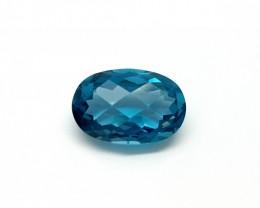 4.85 CTLONDON BLUE TOPAZ   GEMSTONES FOR SALE