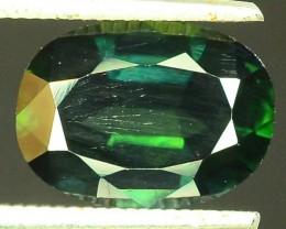 2.35 CT Natural Untreated Dark Green Sapphire