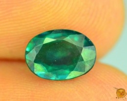 1.040 ct Natural Green Topaz