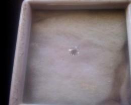 NAT-SUPERWHITE DIAMOND-DE-VVS-O.O7CTWSIZE--1PCS,NORESERVE