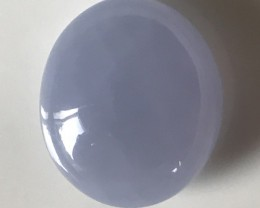 35.00CT LAVENDER BLUE CHALCEDONY GEM