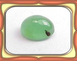 CABOCHON 2.43ct Rare Oval Peruvian Green Opal Cab *WoW $1NR*
