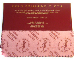 PROFESIONAL GOLD  POLISHING CLOTH  ML GA 9
