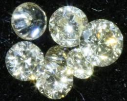 PARCEL ARGYLE CHAMPAGE DIAMONDS .07 CARATS  OP 856