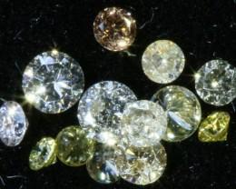 PARCEL ARGYLE CHAMPAGE DIAMONDS .17 CARATS  OP 858