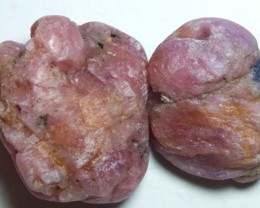 TUMBLED RUBY BEAD 64.35CTS NP-615