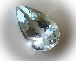 2.68CT AQUAMARINE TOP JEWELLERY GRADE SHIMMERING GEM