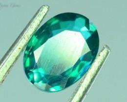 1.095 ct Natural Green Topaz