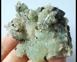 263.5Ct Natural Babingtonite Gemstone ,Mineral Gemstone Sepcimens