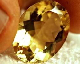 16.45 Carat IF/VVS1 Vibrant Golden African Andesine