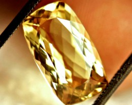 5.25 Carat VVS1 Brazil Golden Beryl - Gorgeous