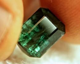 4.95 Carat Bluish Green Tourmaline - Gorgeous