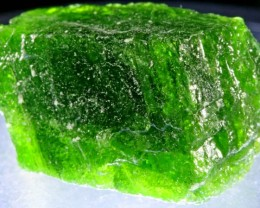 24.05 CTS CHROME DIOPSIDE FROM RUSSIA STABILIZED [F6633 ]