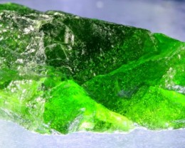 20.60 CTS CHROME DIOPSIDE FROM RUSSIA STABILIZED [F6637 ]
