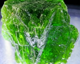 22.60 CTS CHROME DIOPSIDE FROM RUSSIA STABILIZED [F6638 ]