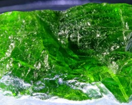 24.40 CTS CHROME DIOPSIDE FROM RUSSIA STABILIZED [F6642 ]