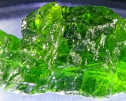 23.30 CTS CHROME DIOPSIDE FROM RUSSIA STABILIZED [F6646 ]