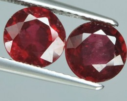 3.40 CTS GENUINE NATURAL ULTAR RARE LUSTROUS RED RUBY