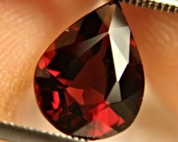4.61 Ct. Fiery Red VS Rhodolite Garnet Pear - Gorgeous