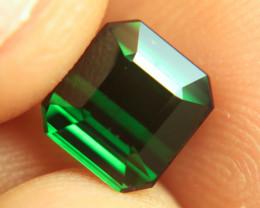 3.07 Carat Flashy Green VS Nigerian Tourmaline - Superb