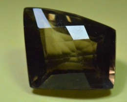 Smokey  Quartz Faceted gemstone