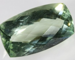 18.20 CTS FACETED NATURAL PRASIOLITE  [GOGO135]