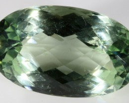 28.80 CTS FACETED NATURAL PRASIOLITE  [GOGO128]