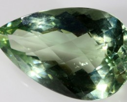 22 CTS FACETED NATURAL PRASIOLITE  [GOGO114]