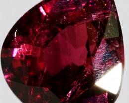 11.50 CTS FACETED NATURAL RUBELITE GEMSTONE [GOGO100]