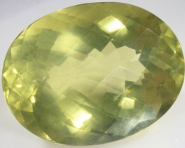 91.50 CTS FACETED NATURAL CITRINE GEMSTONE [GOGO141]