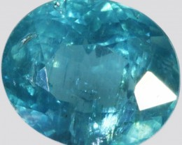 3.80 CTS FACETED NATURAL APATITE GEMSTONE [GOGO101]