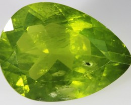 9.75 CTS FACETED NATURAL PERIDOT [GOGO122]